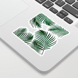 Tropical Palm Leaf Sticker