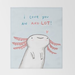 Lotl Love Throw Blanket