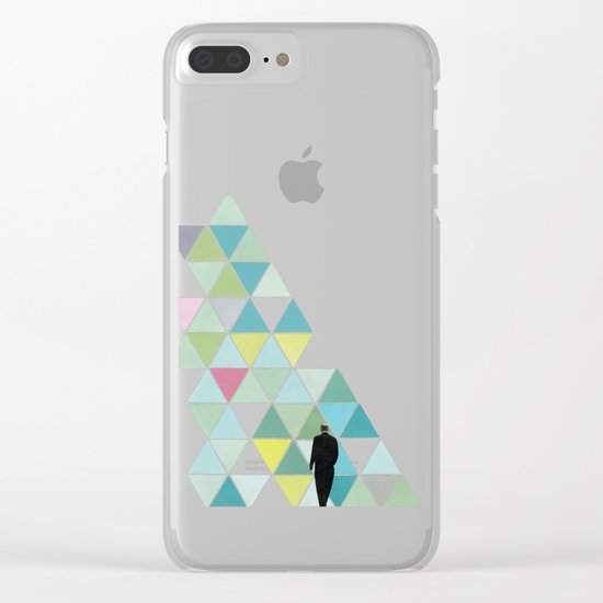Obstacle Clear iPhone Case