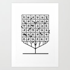 Tree Collection -2 Art Print