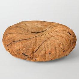 Wood Texture 99 Floor Pillow