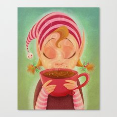 Elf Cocoa Canvas Print