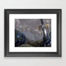 Rising Prophecy Framed Art Print