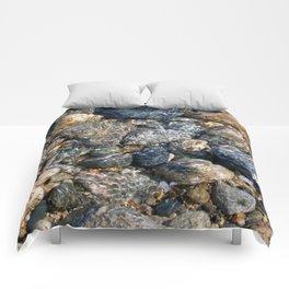 Sea of Pebbles Comforters