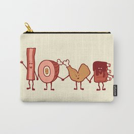 Meat Love U Carry-All Pouch