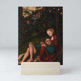 "Lucas Cranach the Elder ""Samson and Delilah"" Mini Art Print"