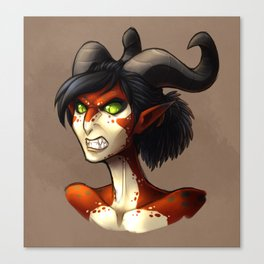 Wildstar - Draken Lady Canvas Print