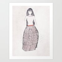 marc Art Prints featuring Marc Jacobs by MEERA LEE PATEL