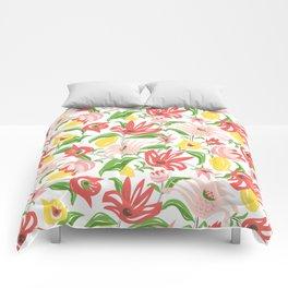 Island Garden Floral Comforters