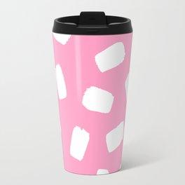 Candyfloss Brushstrokes Travel Mug