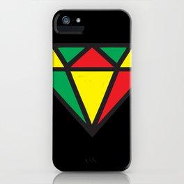 Reggae Diamond iPhone Case