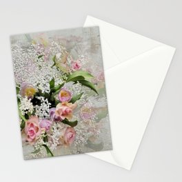 Happy Flower Explosion Stationery Cards