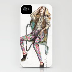 Floral Fashion iPhone (4, 4s) Slim Case