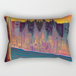At The Energy River Rectangular Pillow
