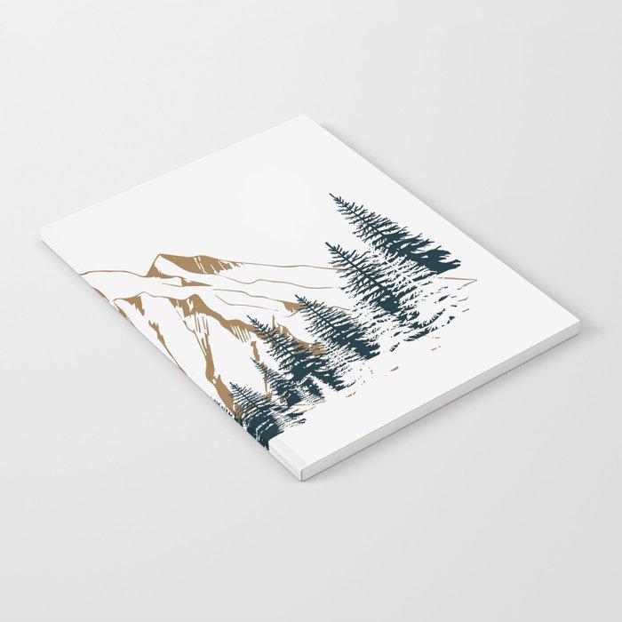 mountain # 4 Notebook