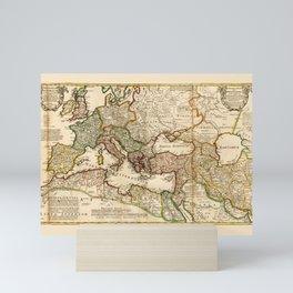 Map Of The Roman Empire 2 Mini Art Print