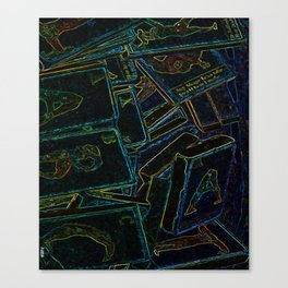 Wood Blocks ABC Canvas Print