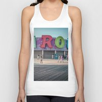 carousel Tank Tops featuring Carousel  by MikeMartelli