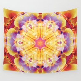 Mandalas from the Heart of Compassion 2 Wall Tapestry