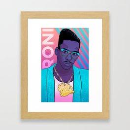 Roni Framed Art Print