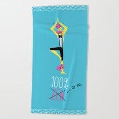 100% Zen Beach Towel