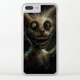 Mr. Widemouth Clear iPhone Case