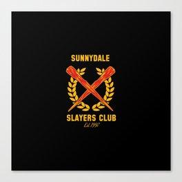 The Club Canvas Print