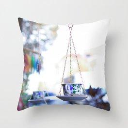 Asheville Teacup Throw Pillow