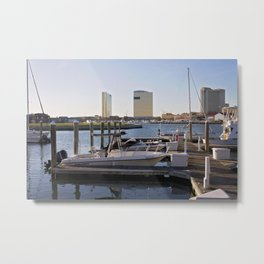 Docked by the Bay Metal Print
