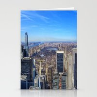 central park Stationery Cards featuring Central Park by Christine Workman