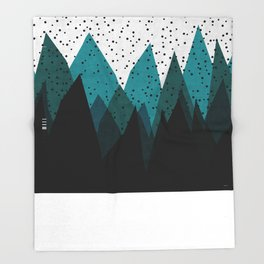 Winter is Here Throw Blanket