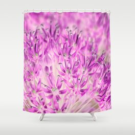 Allium Inversion Shower Curtain