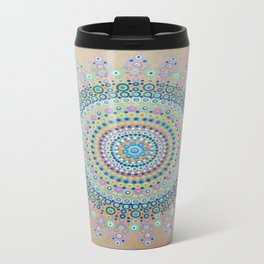 Mursy Hill Wish Board Mandala Travel Mug