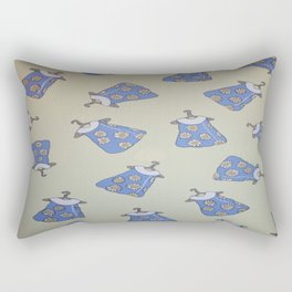 Children's Pattern Design - Dresses - Wild Veda Rectangular Pillow