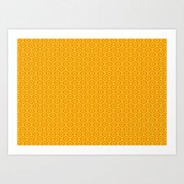 Eye pattern Art Print