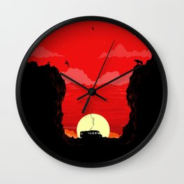 Break Bad - The Desert Wall Clock