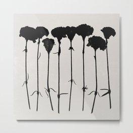 carnations 1 Metal Print