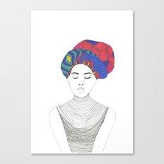 Fashion Illustration 1  Canvas Print