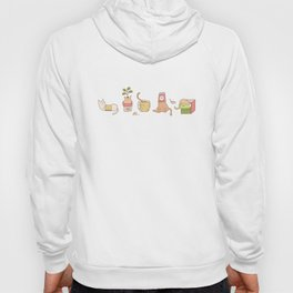 Naughty cats in small containers Hoody