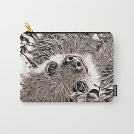 Rustic Style - Sloth Carry-All Pouch