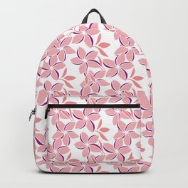 Pink Frangipani 1 Backpack