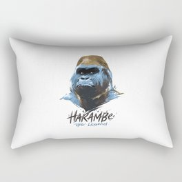 Harambe Rectangular Pillow