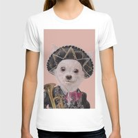 mexican T-shirts featuring Mexican Chihuahua by Rachel Waterman