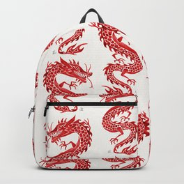 Chinese Dragon – Crimson Palette Backpack