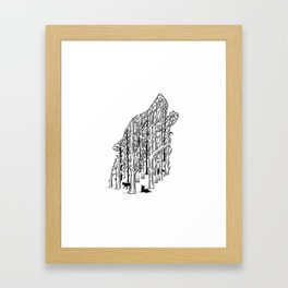 HIDDEN ANIMALS II Framed Art Print