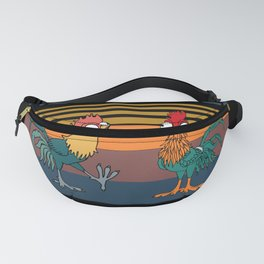 Funny Vintage Chickens The Chicken Whisperer Pet Fanny Pack