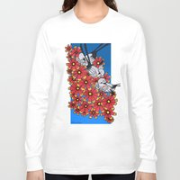 oklahoma Long Sleeve T-shirts featuring OKLAHOMA by Erin L Turberville