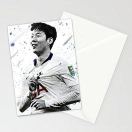 Son Heung-min Football Print Football Wall Art Football Poster Football Wall Decor Poster Stationery Cards