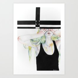 Too boxy Art Print