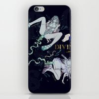 pisces iPhone & iPod Skins featuring PISCES by Chandelina